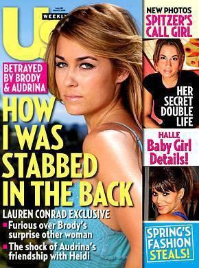 Lauren Conrad: Betrayed!