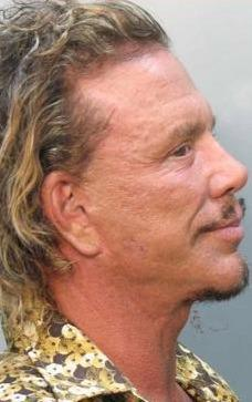 Mickey Rourke Mug Shot 2