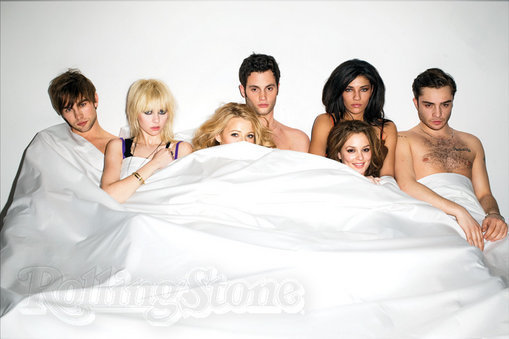 Naked Gossip Girl Cast!