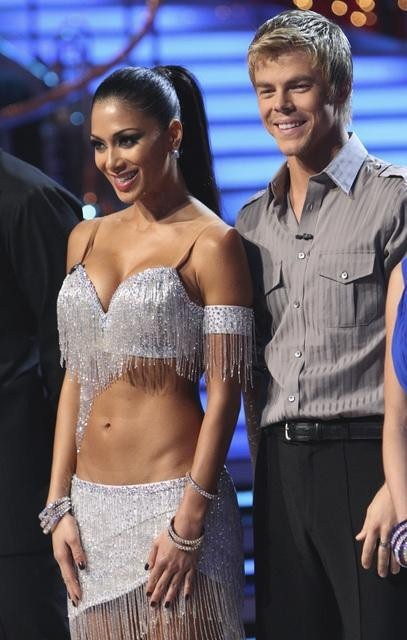 Nicole Scherzinger and Derek Hough Picture