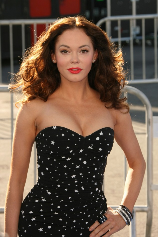 Rose McGowan Photograph