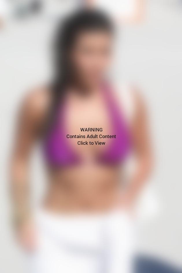 Kim Kardashian Bathing Suit