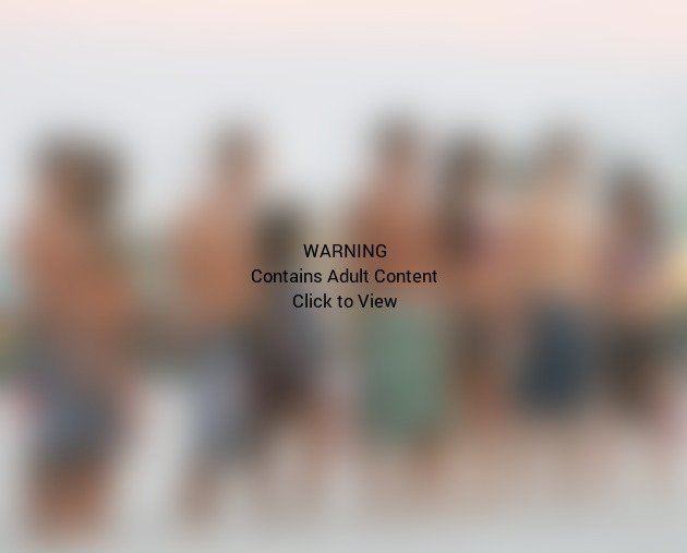 Jersey Shore Cast on the Beach
