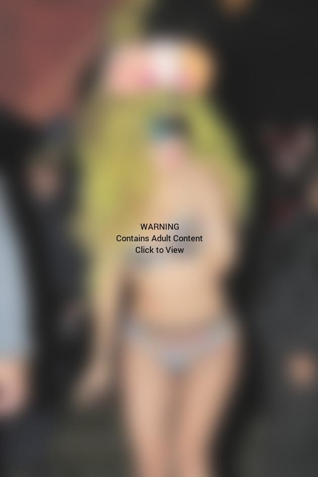 Lady Gaga Bikini Image