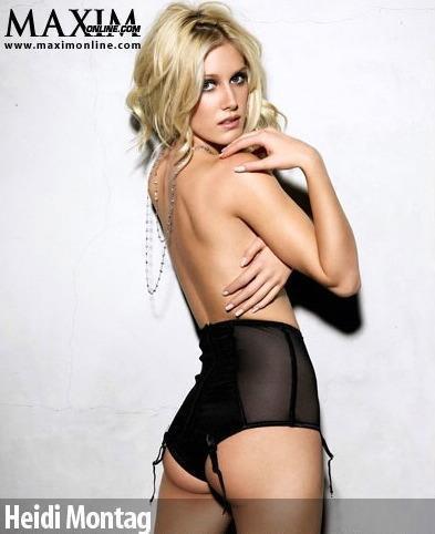 Half Nude Heidi Montag