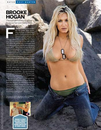 Brooke Hogan, Maxim