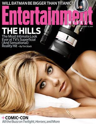 Lauren Conrad, Entertainment Weekly