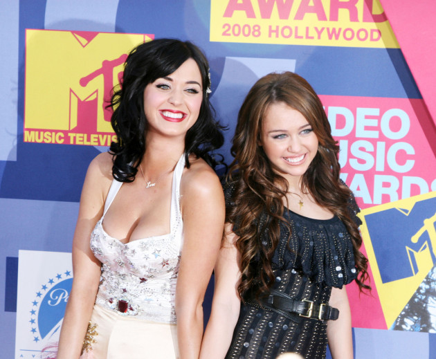 Katy Perry, Miley Cyrus