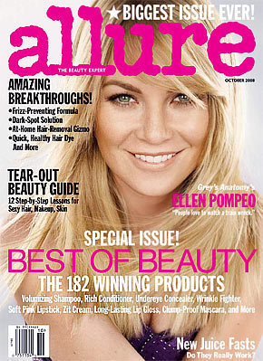 Ellen Pompeo in Allure