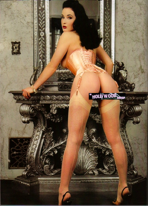 Dita Von Teese Nude Photo