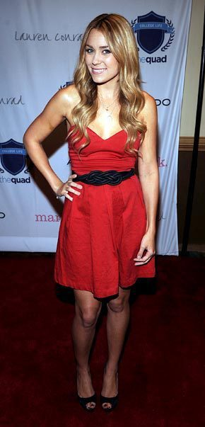 Lauren Conrad in Red