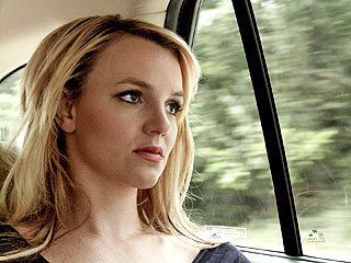 Contemplative Britney Spears