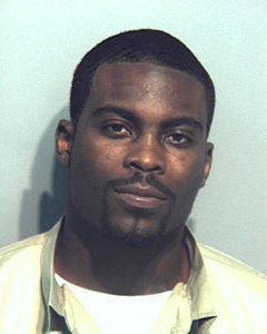 Michael Vick Booking Photo