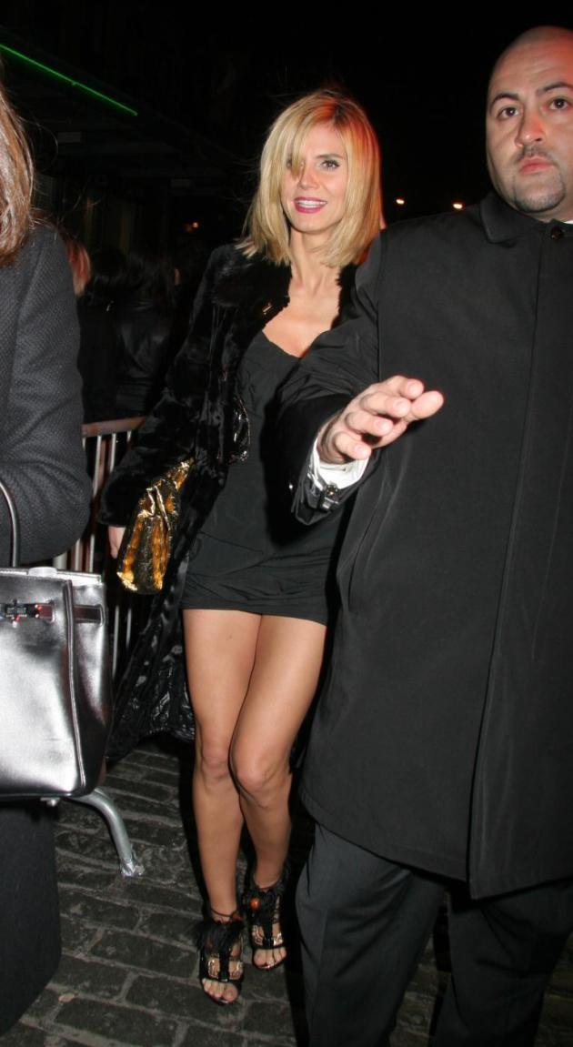 Heidi Klum Arriving at Britney's Birthday