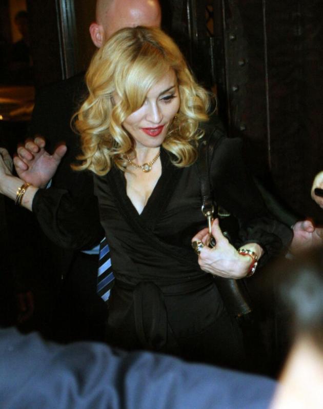 Madonna Done like Dinner