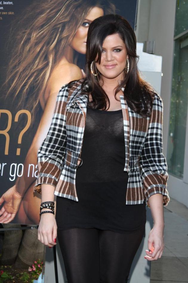 Khloe Kardashian, Klothed
