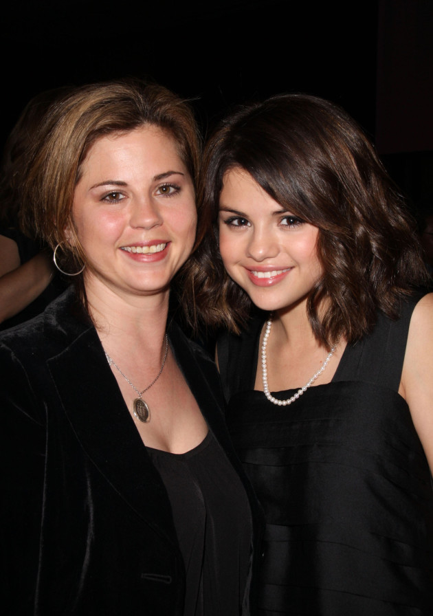 Selena Gomez and Mother