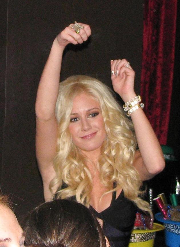 Heidi Montag Dancing