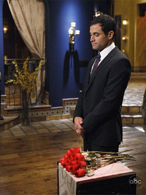 Jason Mesnick at the Rose Ceremony