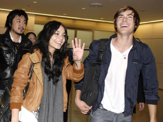 Zac and Vanessa Pic