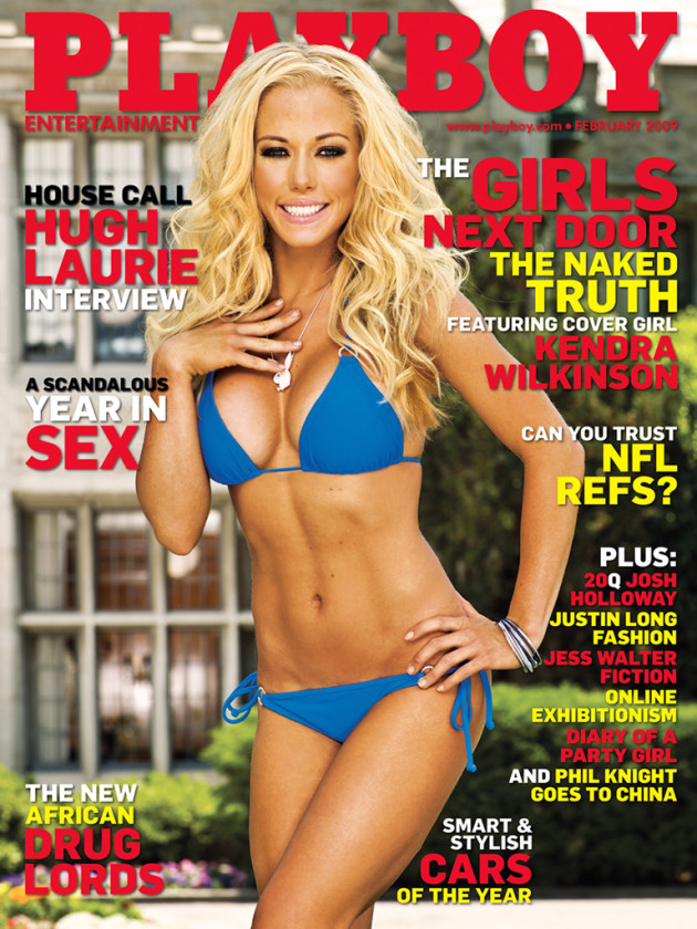 Kendra Wilkinson, Playboy Cover