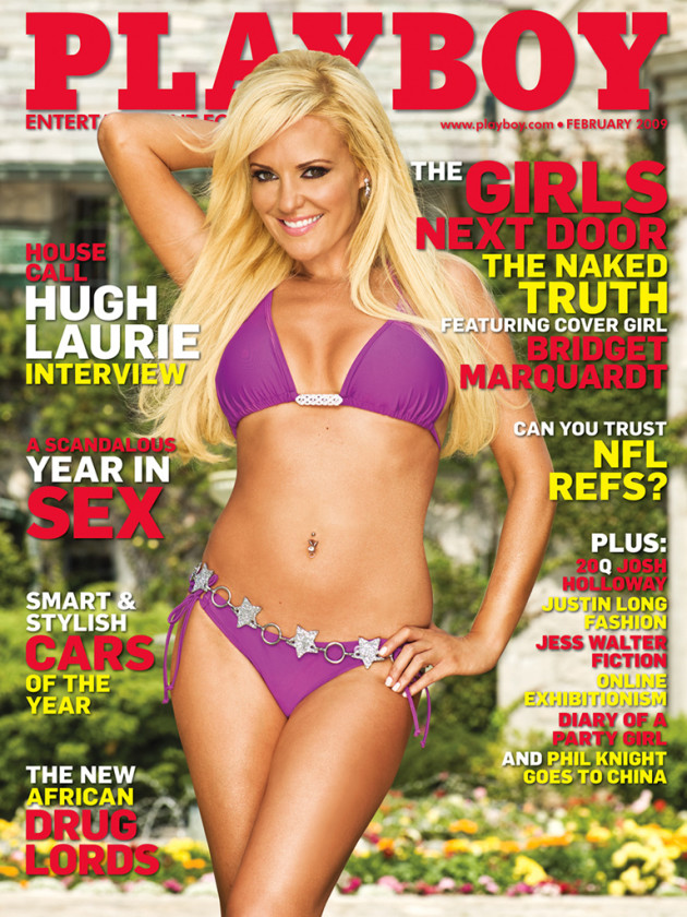 Bridget Marquardt, Playboy Cover