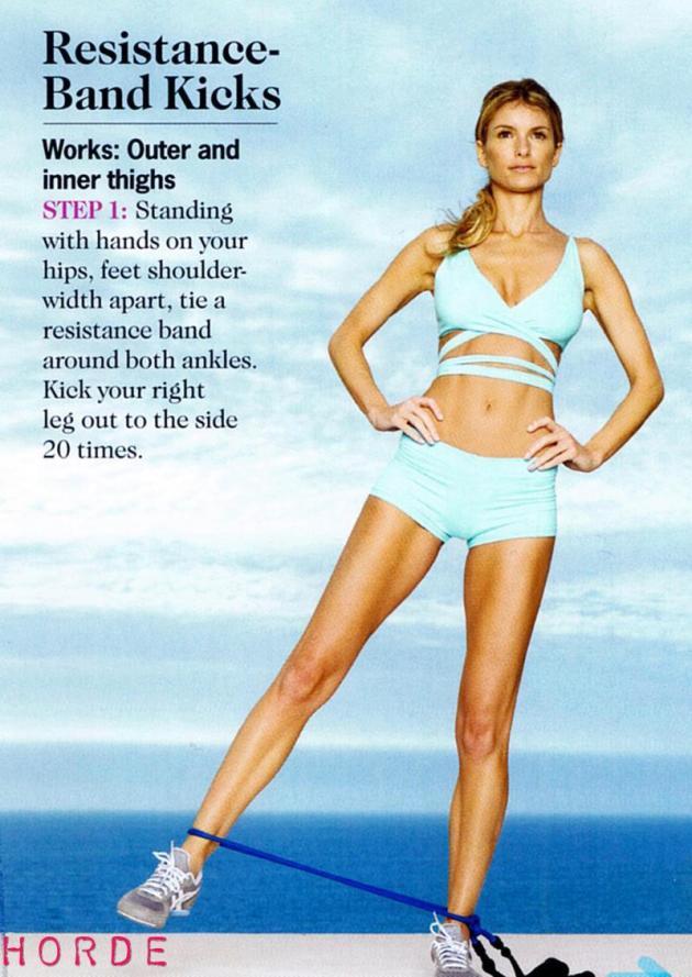 The Marisa Miller Workout
