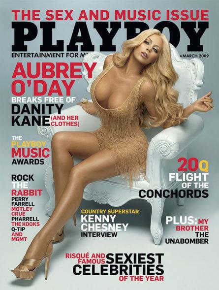 Aubrey O'Day, Playboy