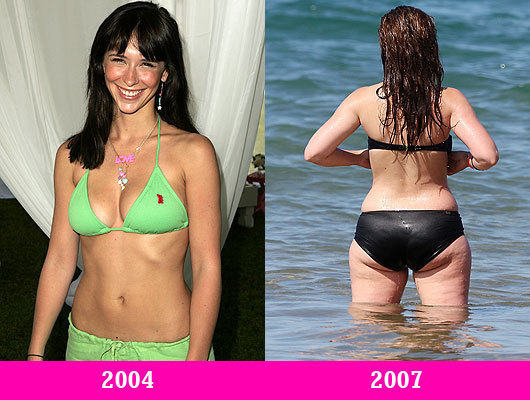 Jennifer Love Hewitt Then and Now
