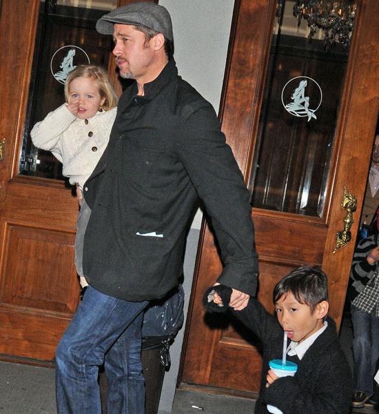 Brad Pitt and Kids
