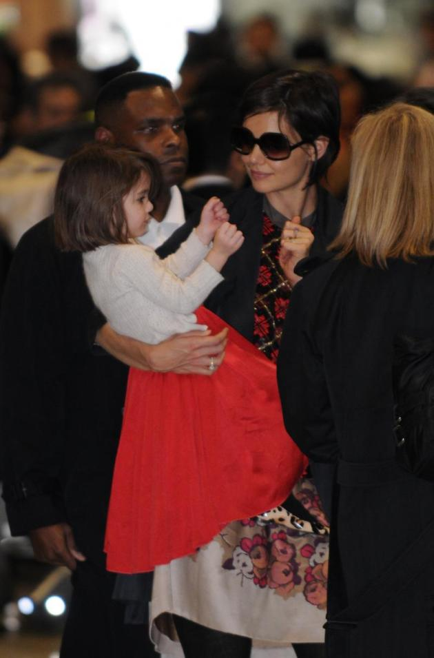 Katie and Suri in Japan