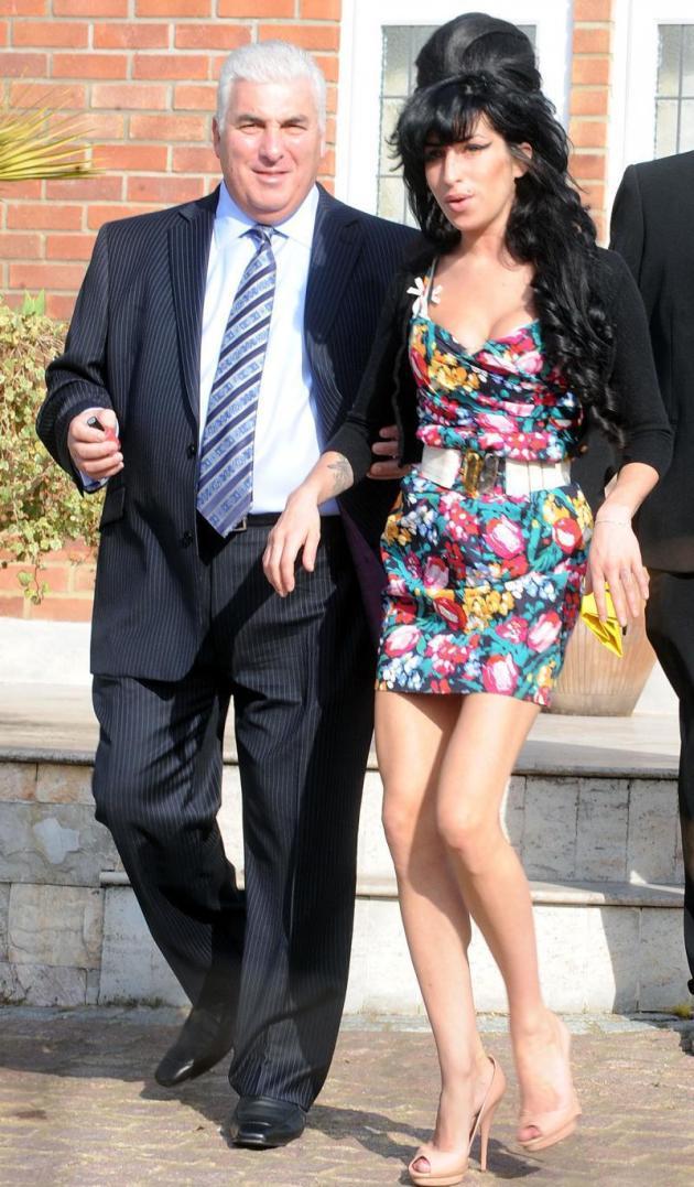 Mitch Winehouse, Amy Winehouse Pic