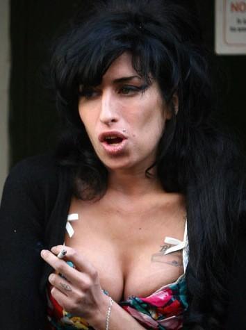 Wino Smoking a Cig