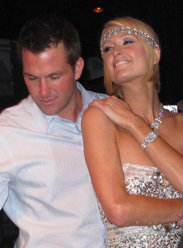 Paris Hilton and Doug