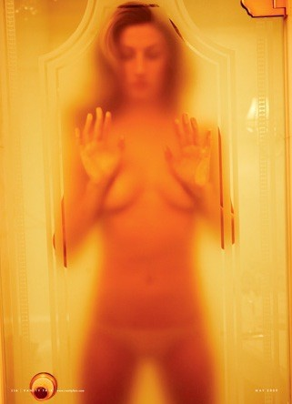 Gisele Topless, in Shower