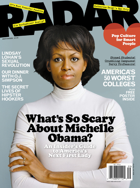 Scary Michelle Obama?