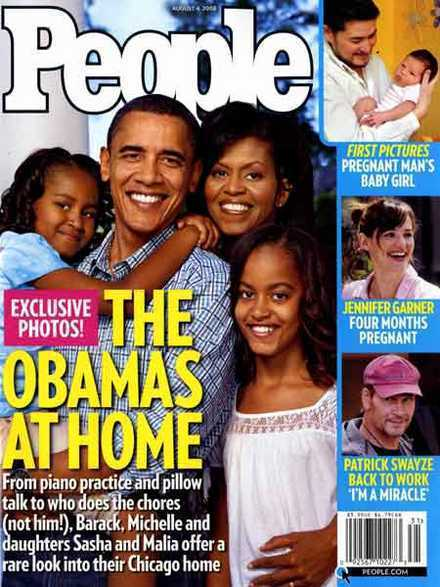 The Obamas at Home