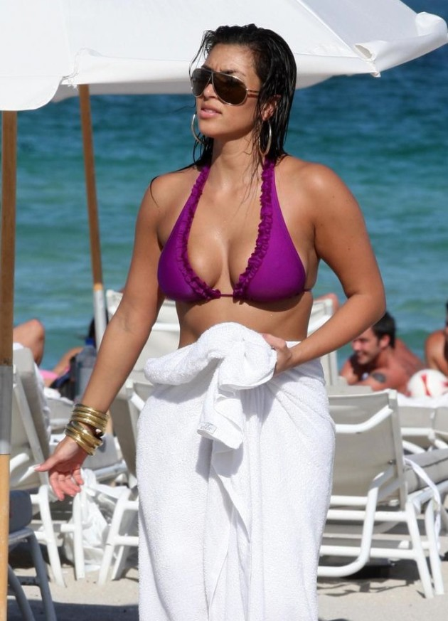 Kim Kardashian Bikini Photo