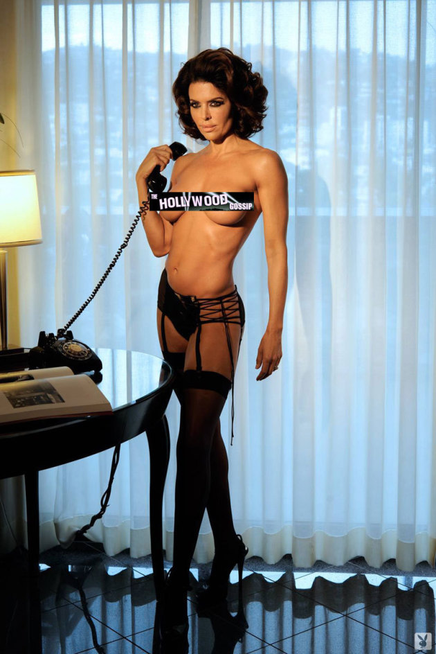 Lisa Rinna Topless