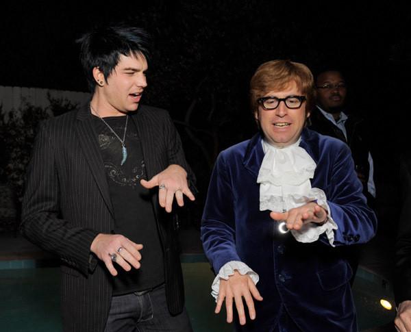 Adam and Austin