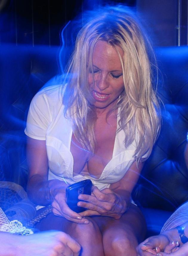 Pamela Anderson Cleavage Photo