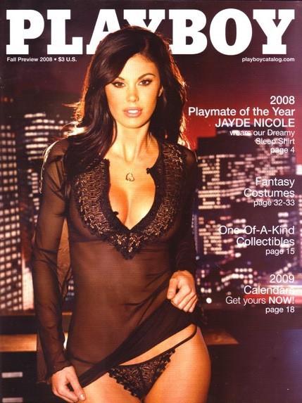 Jayde Nicole, Playmate of the Year 2008