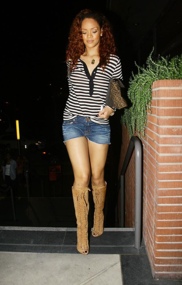 Rihanna: Streetwalker Chic