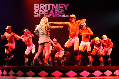 Britney Spears, Half-Naked Dancers