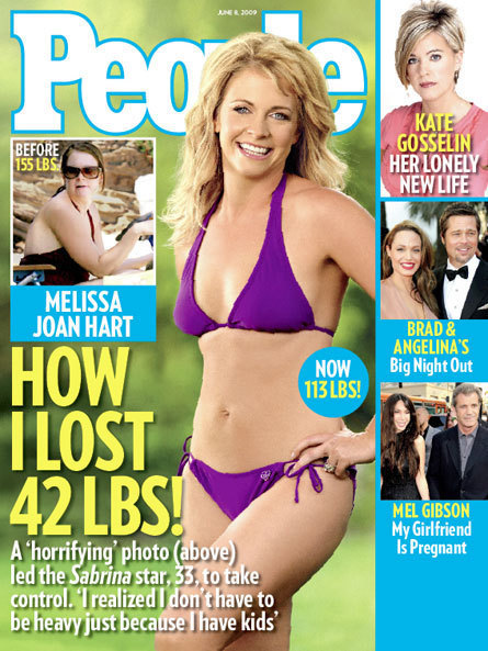 Melissa Joan Hart Bikini Pic