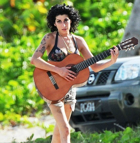 Amy Winehouse, Guitar
