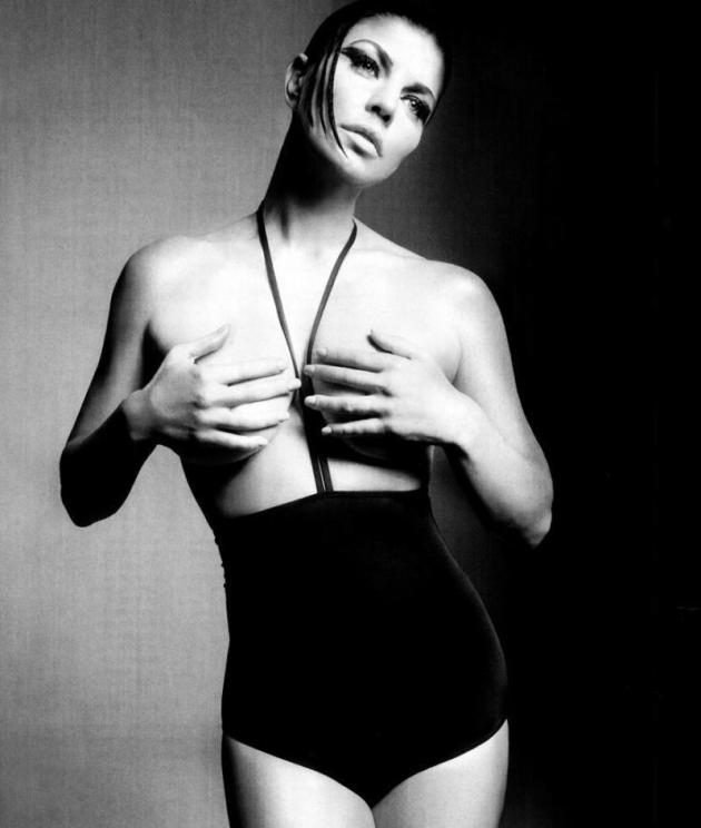 Fergie Topless