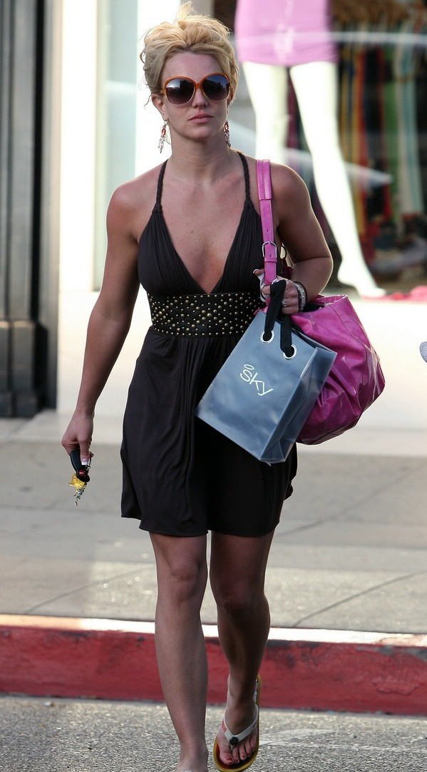 Britney Shopping
