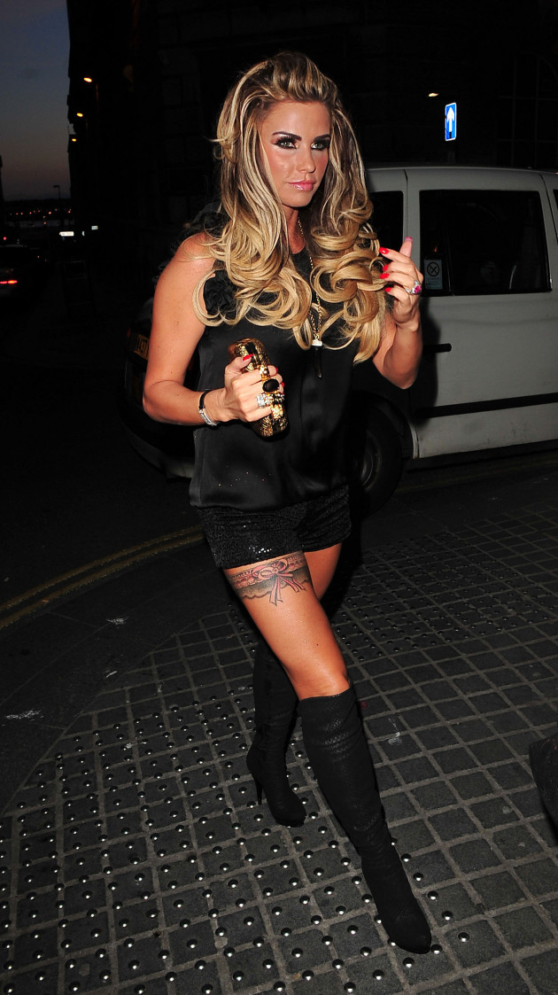 Katie Price, Underwear