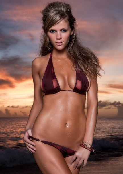 A Brooklyn Decker Bikini Photo